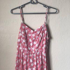 Beautiful spring floral dress